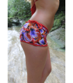 Azahar Surf Short | Red Fire