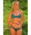Del Sol Surf Top | Pink&Green