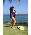 Calida Surf One Piece | Black&Violet