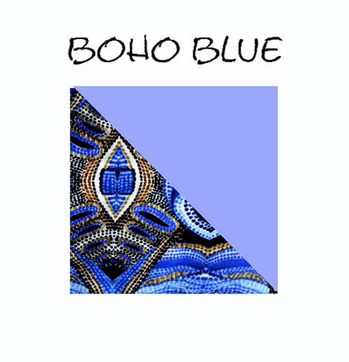 boho blue surfbikini