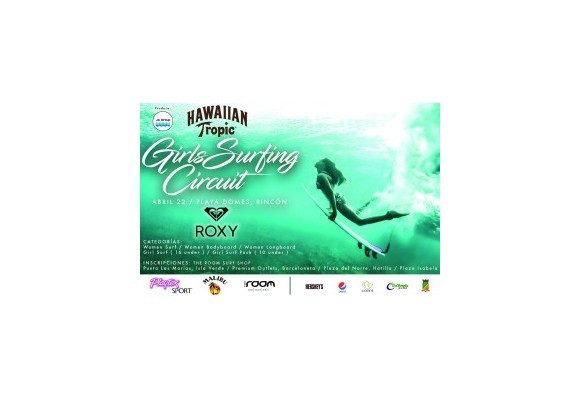 GIRLS SURFING EVENT IN PUERTO RICO