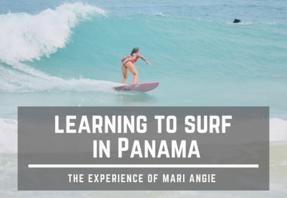 Learning to surf in Panama